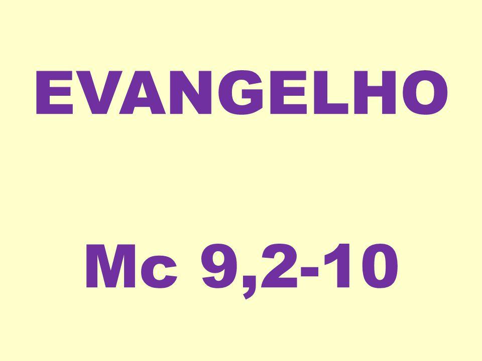 EVANGELHO Mc 9,2-10