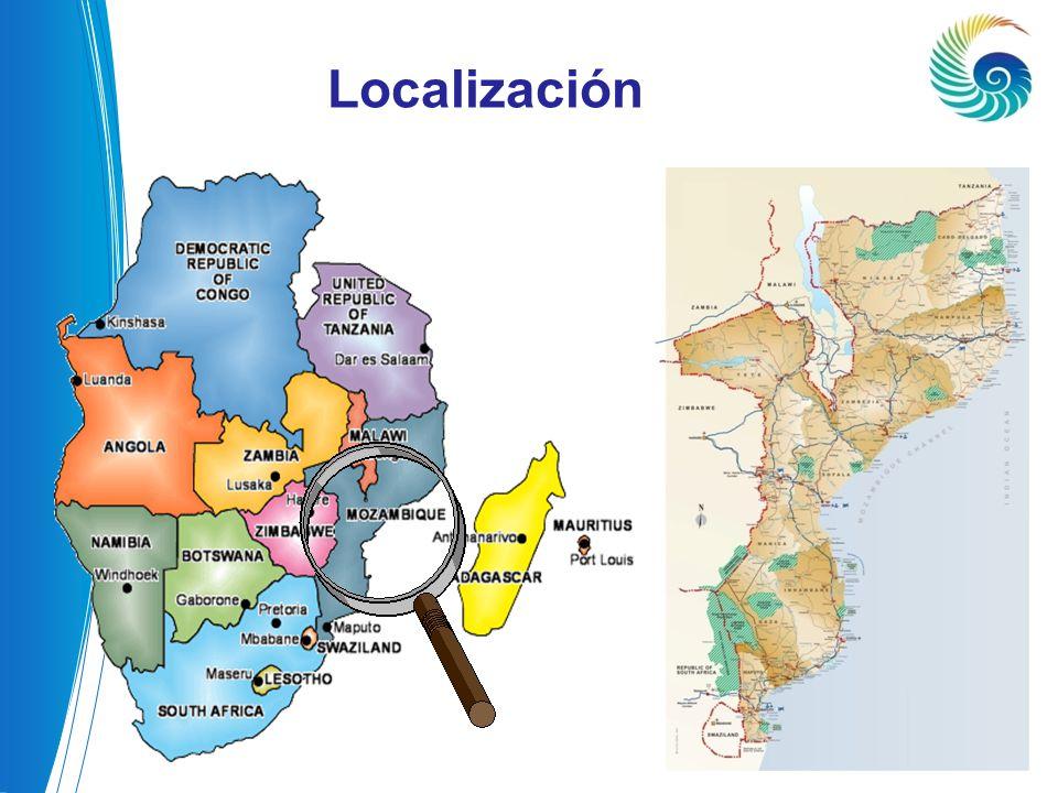 Capital: Maputo Lengua Oficial: Portugu ê s (Inglês) Superfície: 799.390 Km² Población: 22.416,881 habitantes (2010, INE) PIB Per Capita: 454,0 USD (2009,INE) Moneda: Metical (Mt) Clima: Sub-tropical El PAÍS