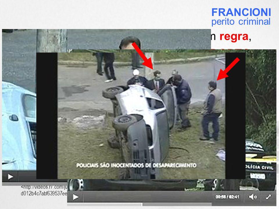 O caso Juan Moraes se constitui em regra, não em exceção: o atual Diretor do DGPTC também executou exame pericial no conhecido caso Patrícia Amieiro , na época em que era Diretor do ICCE – coincidentemente, sendo acompanhado pelo mesmo perito escolhido.