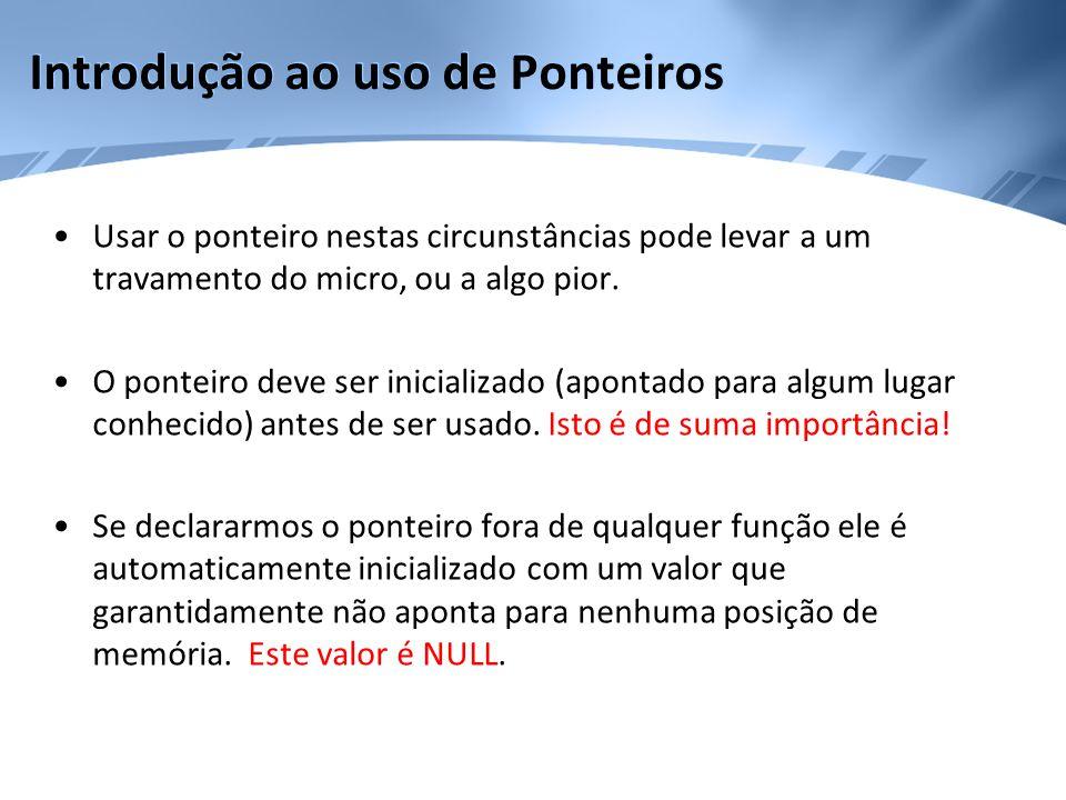 Aritmética de Ponteiros •Para exemplificar consideremos p1 um ponteiro para um inteiro com o valor atual de 2000.