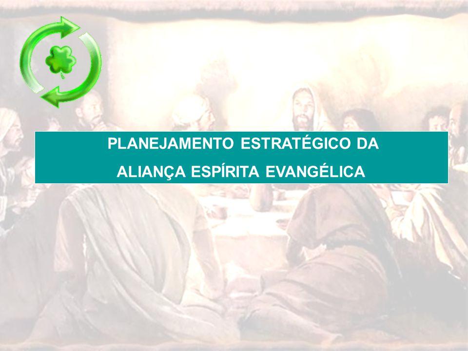 PLANEJAMENTO ESTRATÉGICO DA ALIANÇA ESPÍRITA EVANGÉLICA