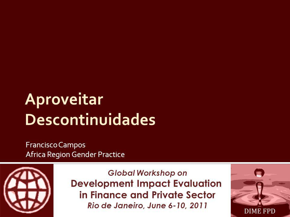 Obrigado Agradecemos o apoio financeiro de: Bank Netherlands Partnership Program (BNPP), Bovespa, CVM, Gender Action Plan (GAP), Belgium & Luxemburg Poverty Reduction Partnerships (BPRP/LPRP), Knowledge for Change Program (KCP), Russia Financial Literacy and Education Trust Fund (RTF), and the Trust Fund for Environmentally & Socially Sustainable Development (TFESSD)