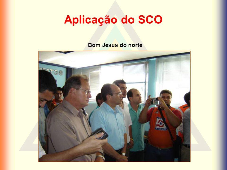 Aplicação do SCO Bom Jesus do norte