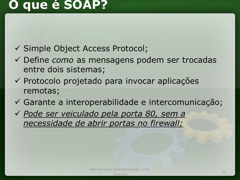 O que é SOAP.