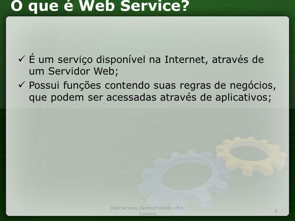 O que é Web Service.
