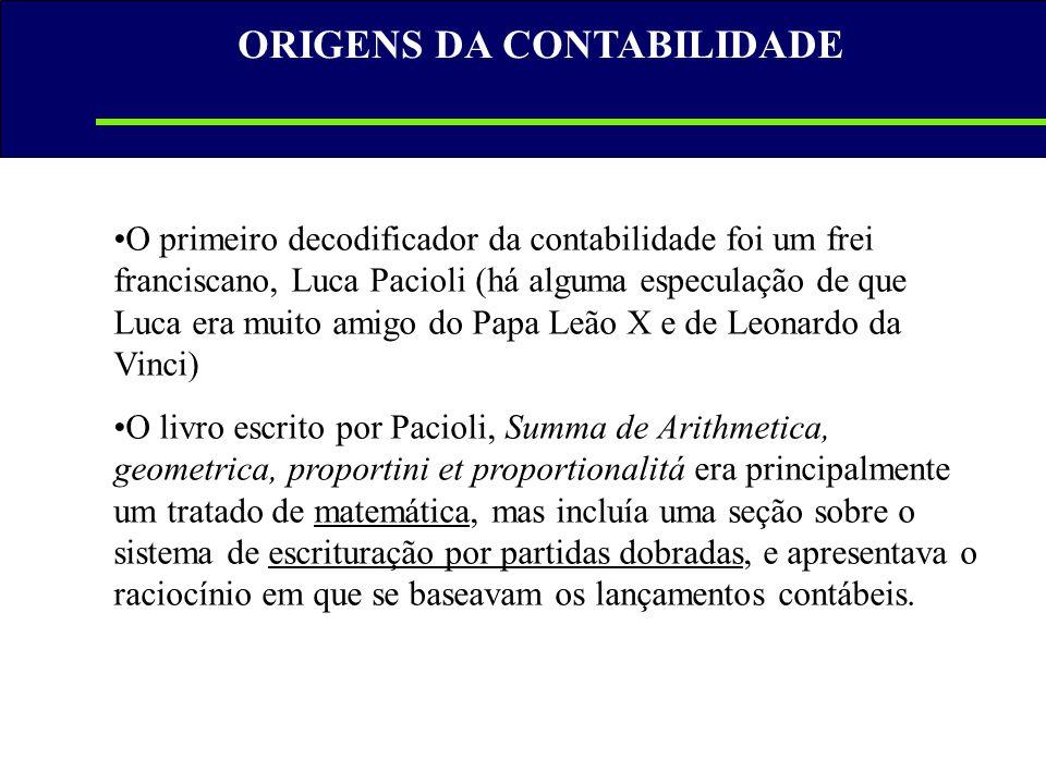 A IMPORTÂNCIA DA INFORMAÇÃO CONTÁBIL • Balanço Patrimonial (BP) • Demonstração de Resultado do Exercício (DRE) • Demonstração de Lucros ou Prejuízos Acumulados ou Demonstração das Mutações do Patrimônio Líquido (DMPL); Demonstração das Mutações do Patrimônio Líquido (DMPL); • Demonstrações de Origens e Aplicações de Recursos (Doar).