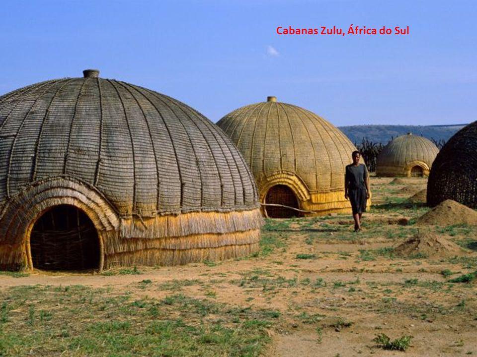 Cabanas Zulu, África do Sul