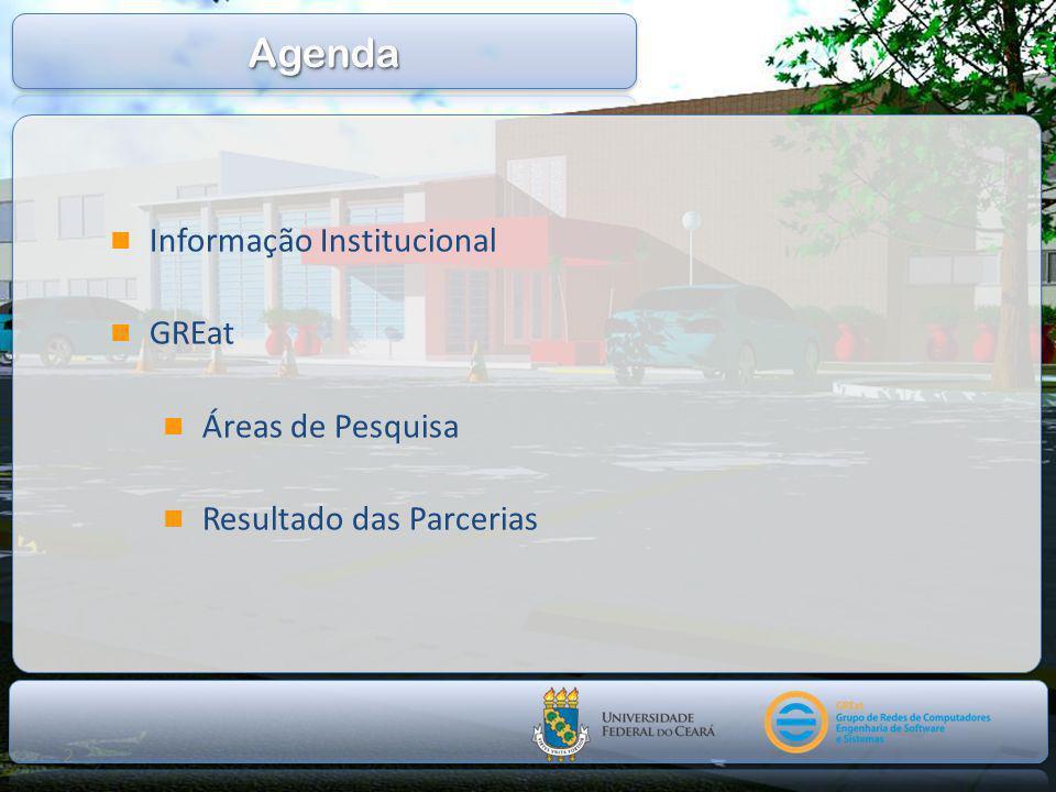 2  Informação Institucional  GREat  Áreas de Pesquisa  Resultado das Parcerias