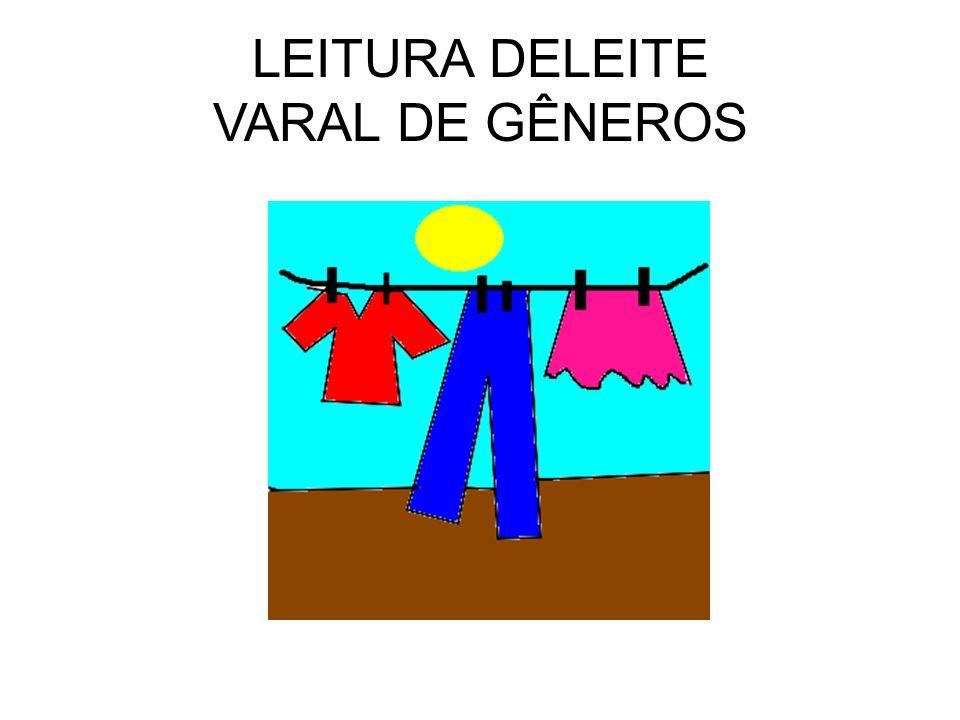 LEITURA DELEITE VARAL DE GÊNEROS