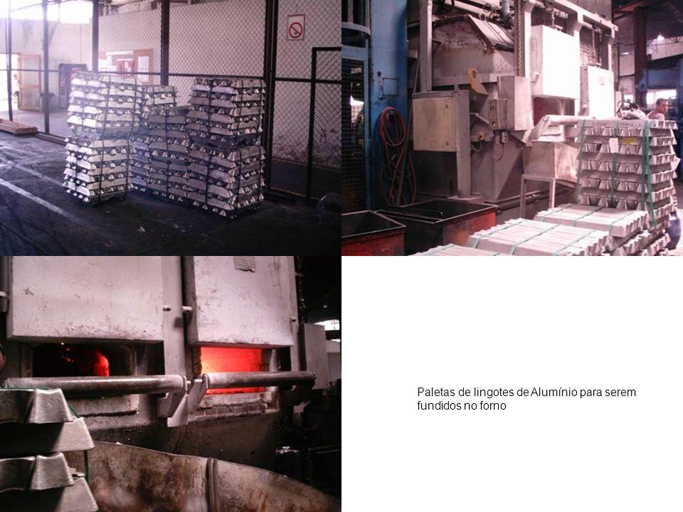 Sector das máquinas de fundição injectada a alta pressão.