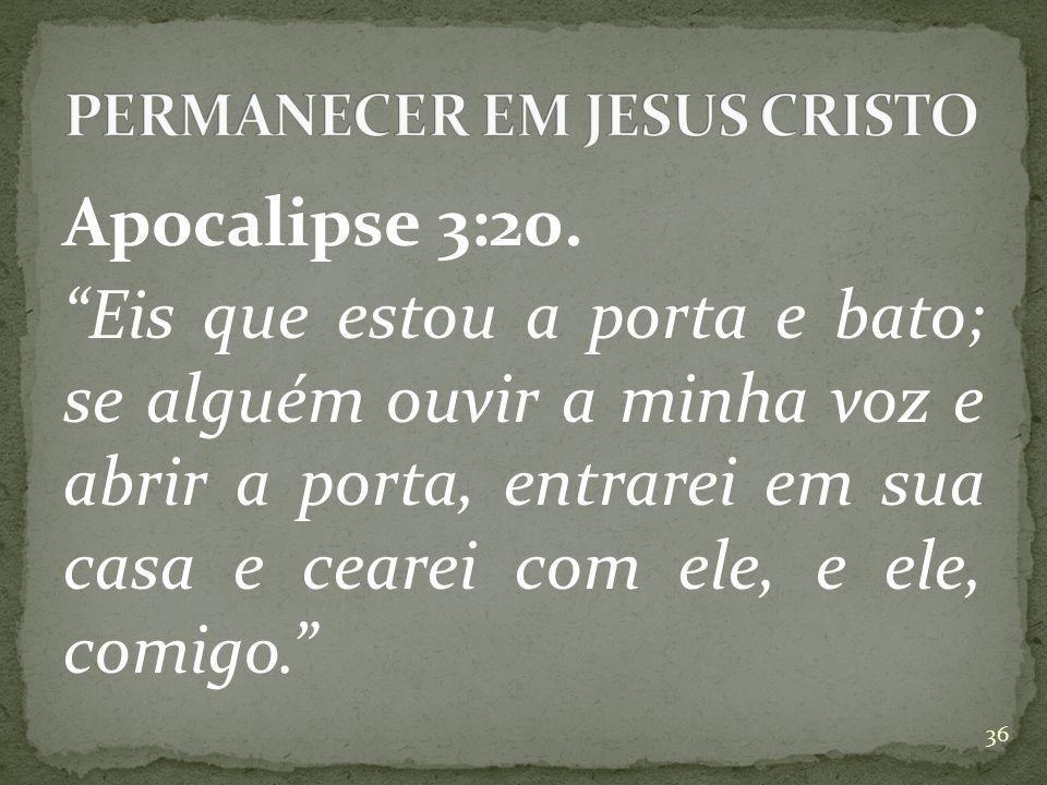 Apocalipse 3:20.