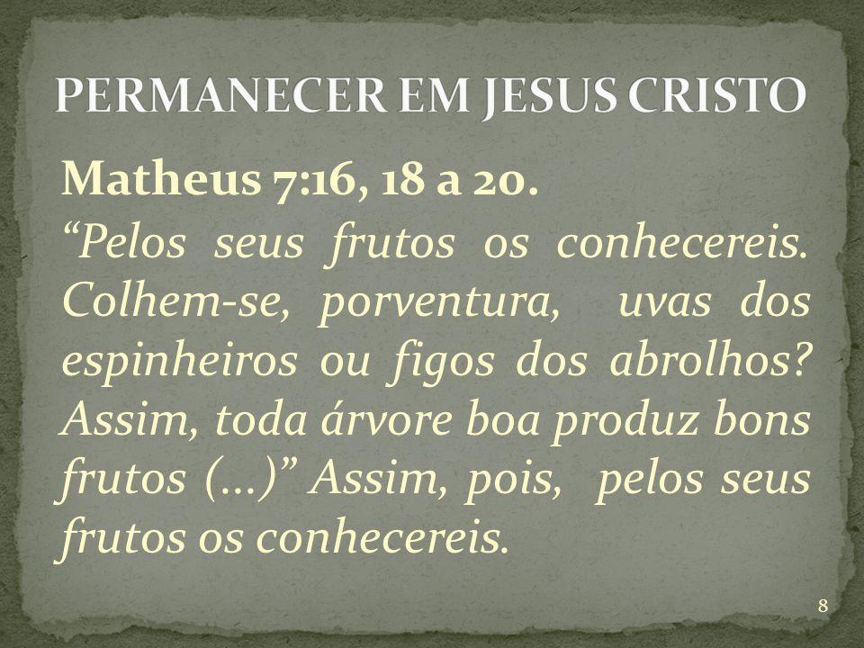 Romanos 7:4. (...) a fim de darmos frutos para Deus Filipenses 1:11.