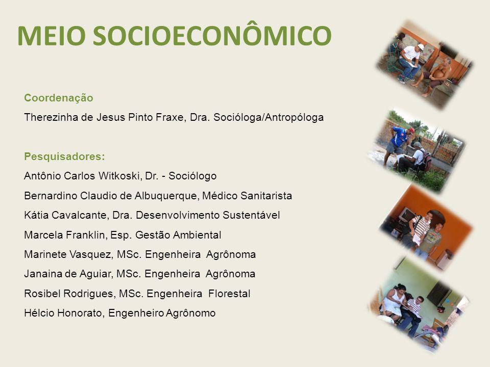 Coordenação Therezinha de Jesus Pinto Fraxe, Dra.