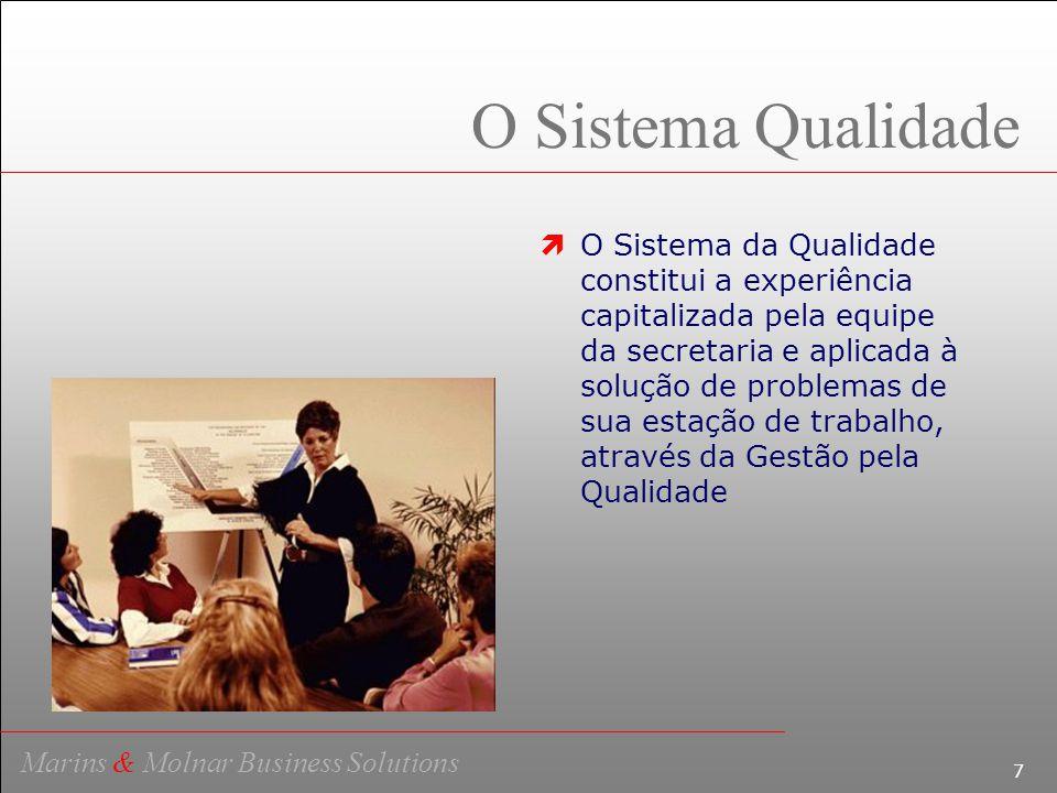 8 Marins & Molnar Business Solutions A Busca de Instrumentos  A busca de instrumentos de aprendizagem, objetivando o desenvolvimento e treinamento do homem, vem sendo alvo dos pesquisadores das áreas humana e social.