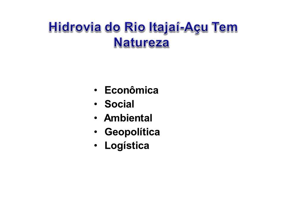 • Econômica • Social • Ambiental • Geopolítica • Logística