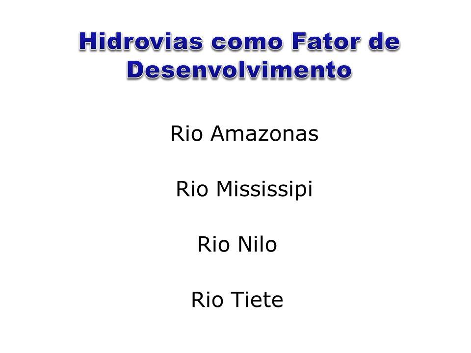 Rio Amazonas Rio Mississipi Rio Nilo Rio Tiete