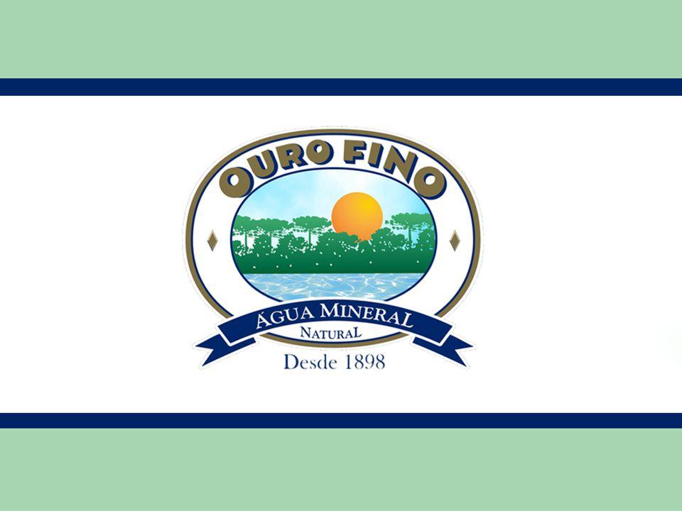 Público Alvo •A água mineral sem gás Ouro Fino é a mais consumida no Sul.