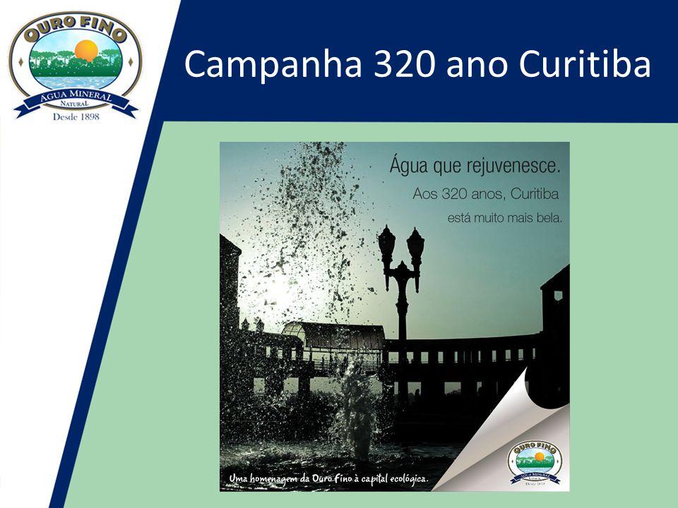 Campanha 320 ano Curitiba