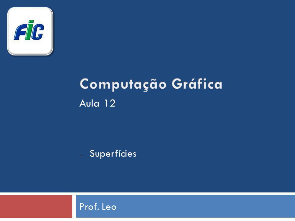 Prof. Leo – Superfícies Aula 12