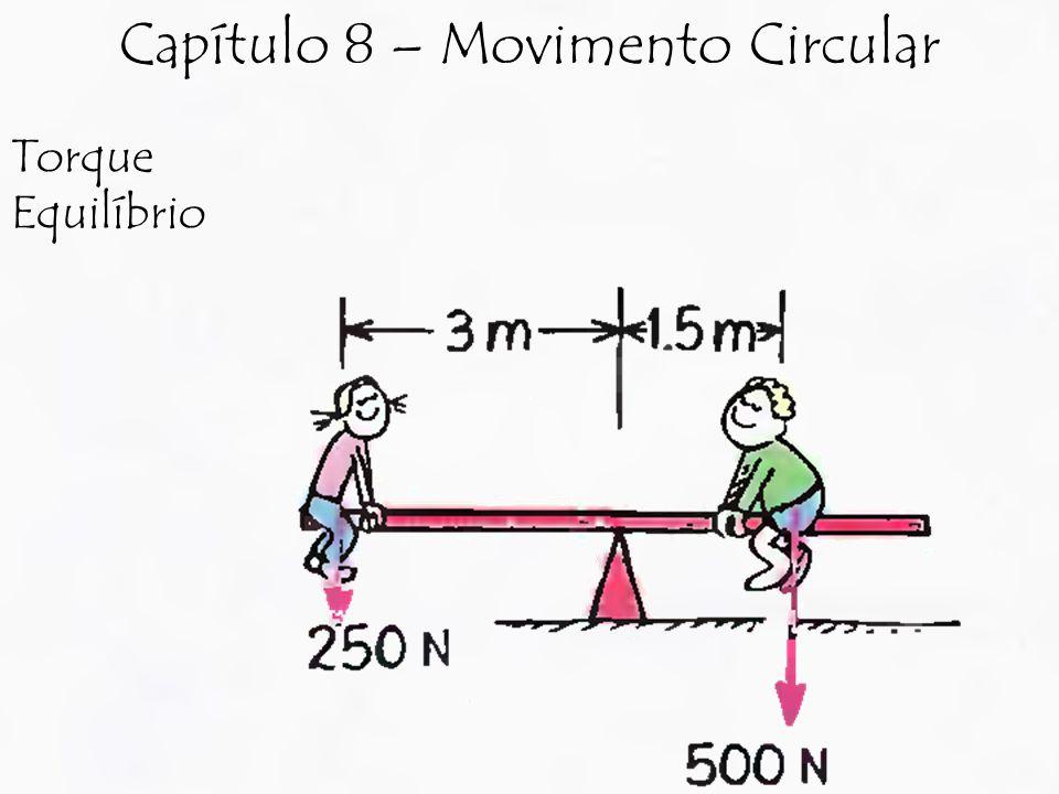 Torque Equilíbrio Capítulo 8 – Movimento Circular