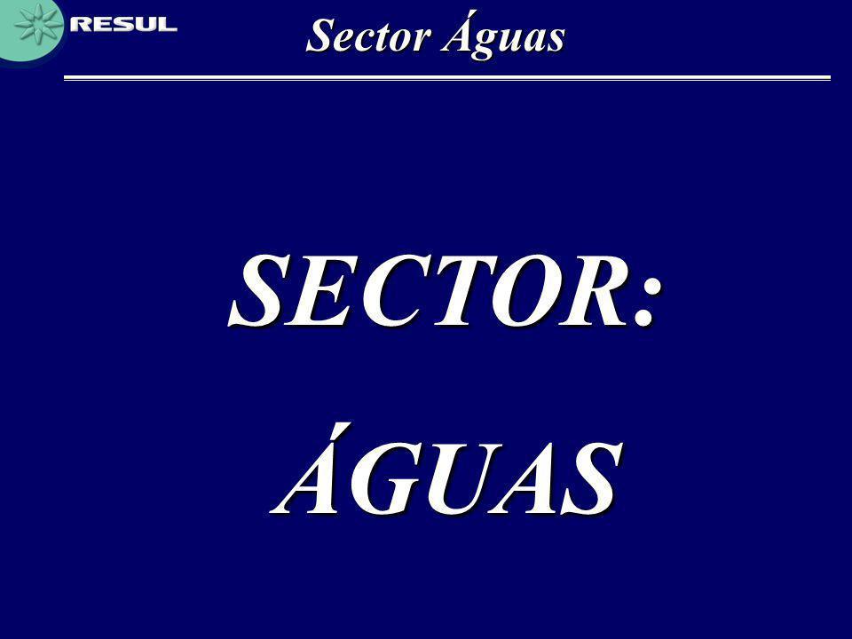 Sector Águas SECTOR:ÁGUAS