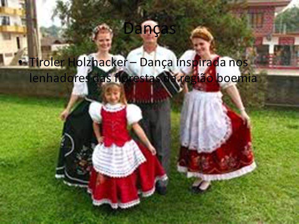 Danças • Tiroler Holzhacker – Dança inspirada nos lenhadores das florestas da região boemia