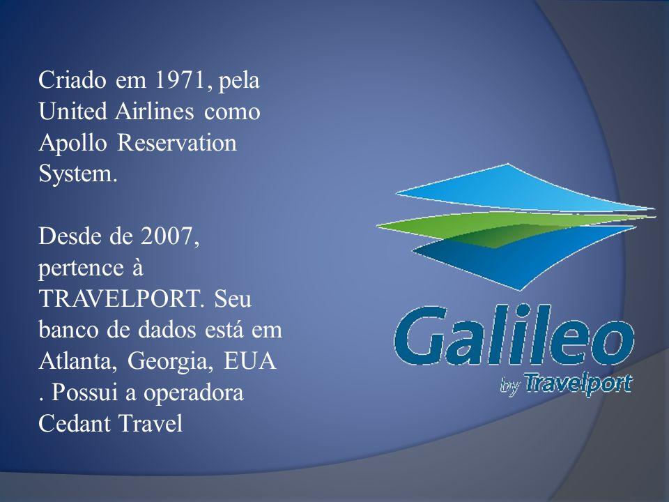 Criado em 1971, pela United Airlines como Apollo Reservation System. Desde de 2007, pertence à TRAVELPORT. Seu banco de dados está em Atlanta, Georgia