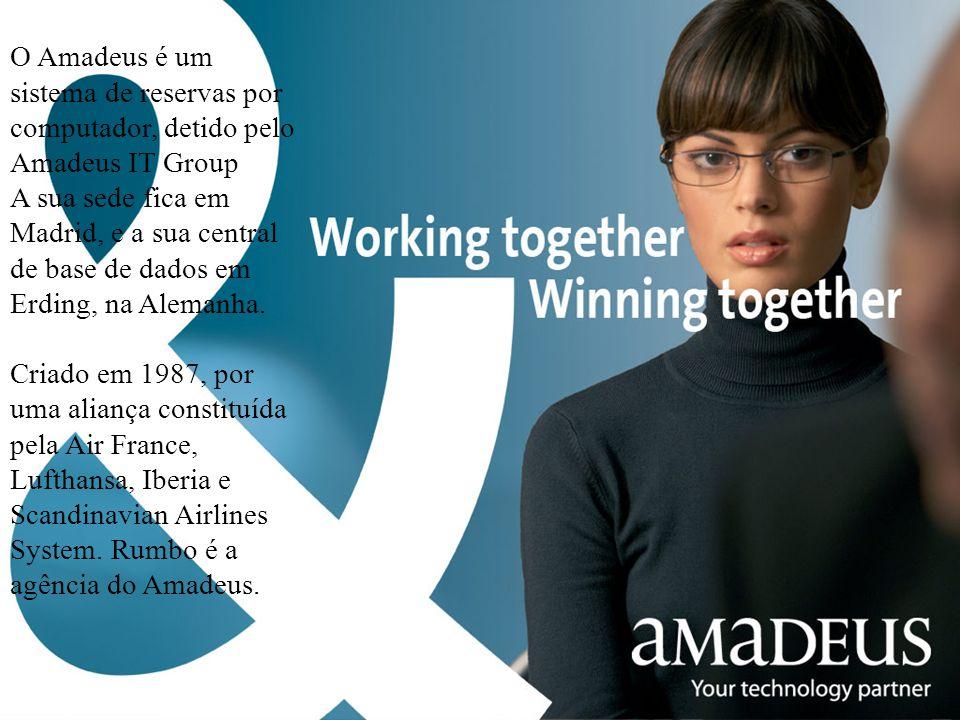 O Amadeus é um sistema de reservas por computador, detido pelo Amadeus IT Group A sua sede fica em Madrid, e a sua central de base de dados em Erding,