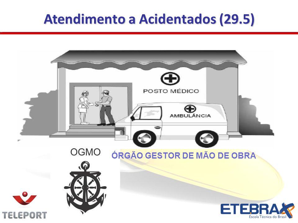 Atendimento a Acidentados (29.5) ÓRGÃO GESTOR DE MÃO DE OBRA