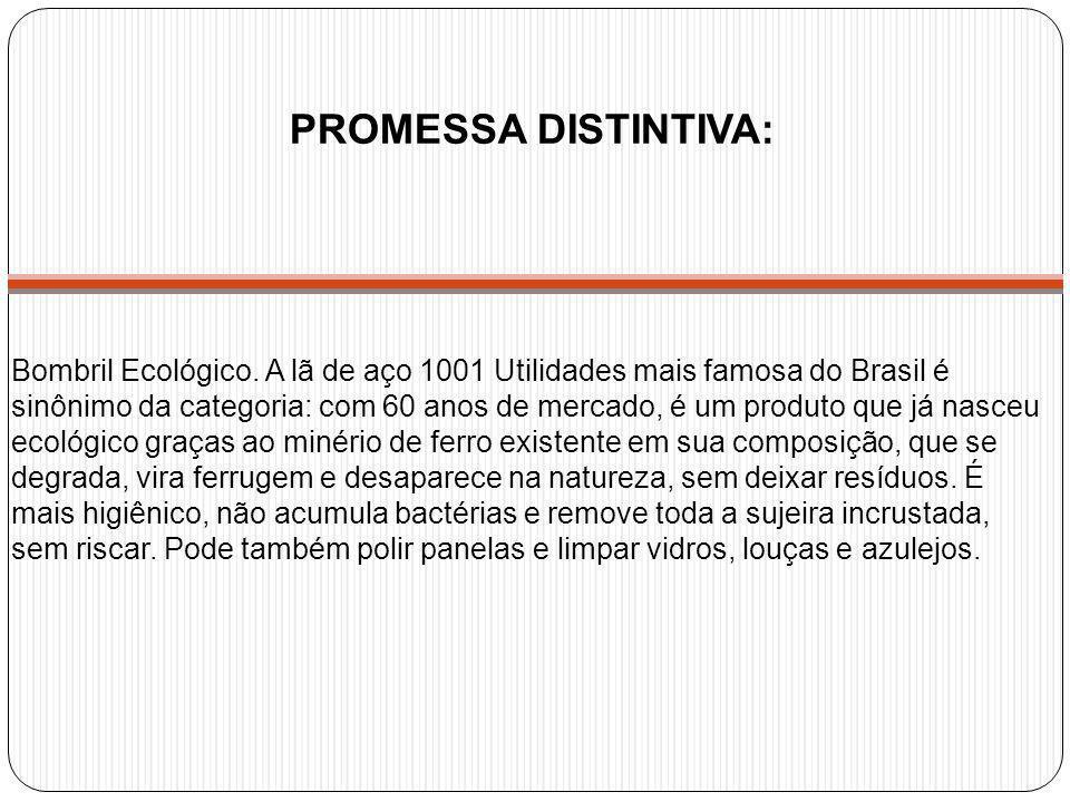 Bombril Ecológico. A lã de aço 1001 Utilidades mais famosa do Brasil é sinônimo da categoria: com 60 anos de mercado, é um produto que já nasceu ecoló