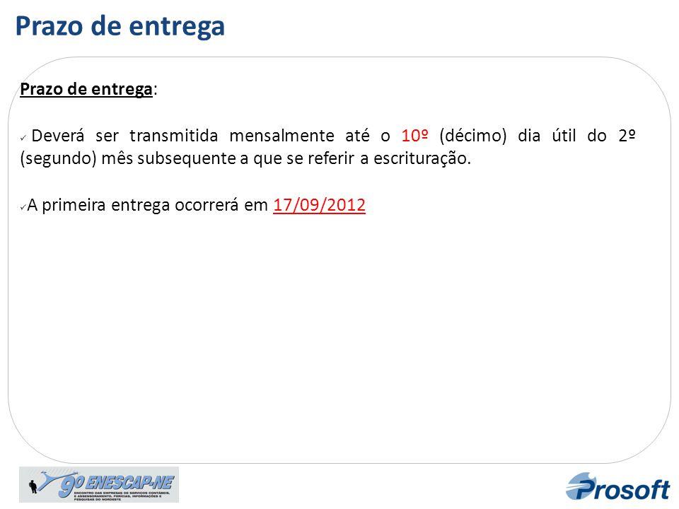 Bloco F Registro F100 Registro F500 Regime de Caixa