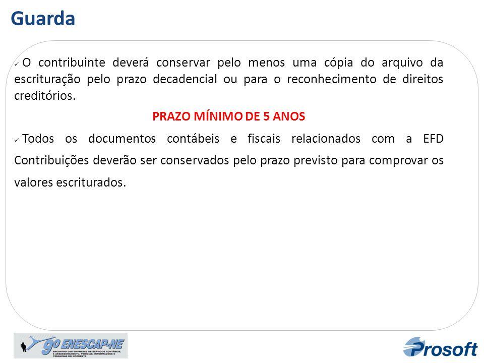 Instituição da EFD Contribuições: Artigo 6º – A apresentação dos livros digitais, nos termos desta Instrução Normativa, supre, em relação aos arquivos correspondentes, a exigência contida na Instrução Normativa SRF n.º 86, de 22 de outubro de 2001 .