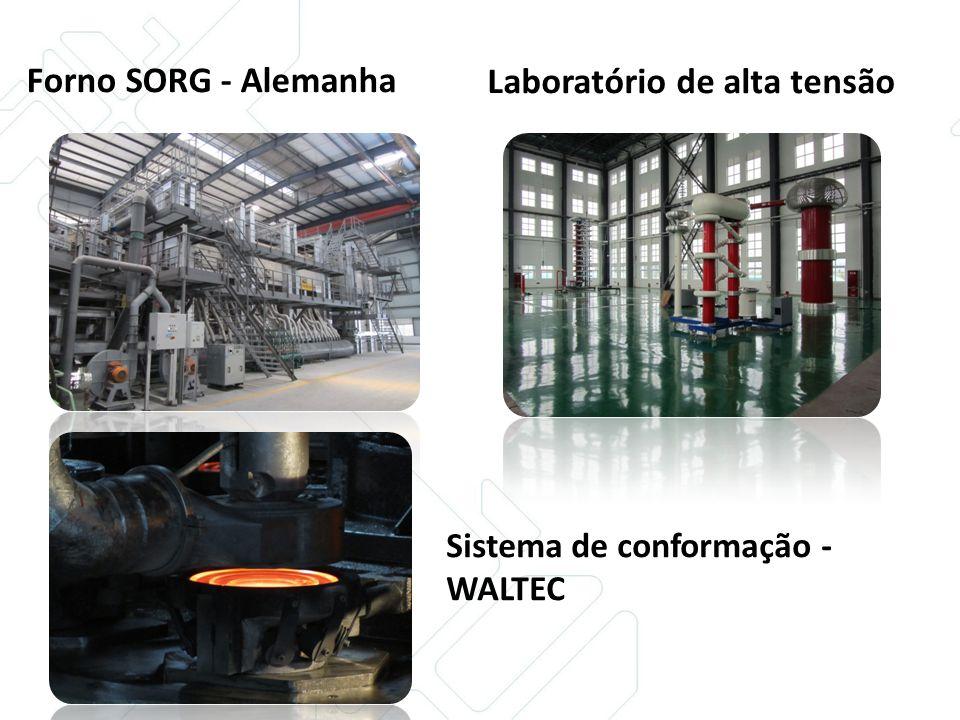 Forno SORG - Alemanha Sistema de conformação - WALTEC Laboratório de alta tensão