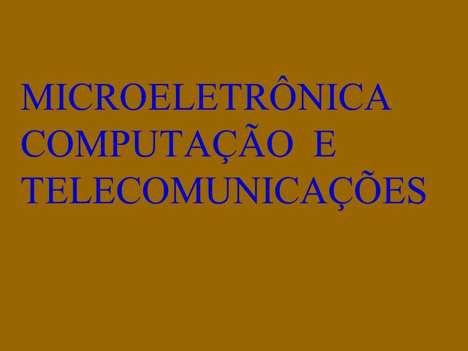 MICROELETRÔNICA COMPUTAÇÃO E TELECOMUNICAÇÕES