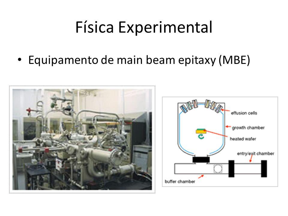 Física Experimental • Equipamento de main beam epitaxy (MBE)
