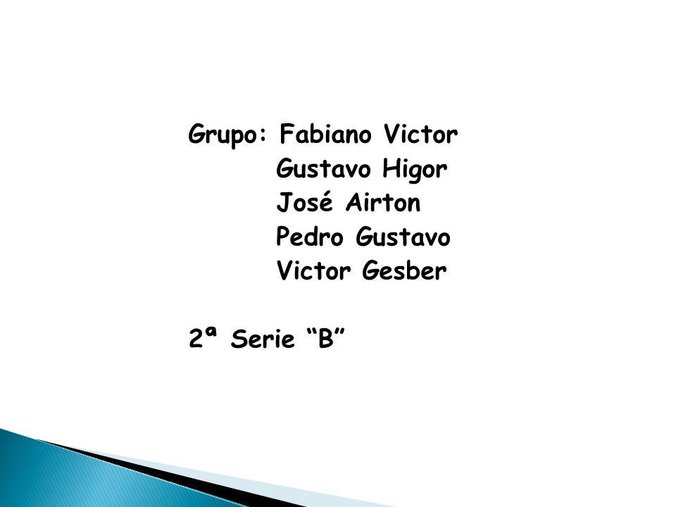 "Grupo: Fabiano Victor Gustavo Higor José Airton Pedro Gustavo Victor Gesber 2ª Serie ""B"""