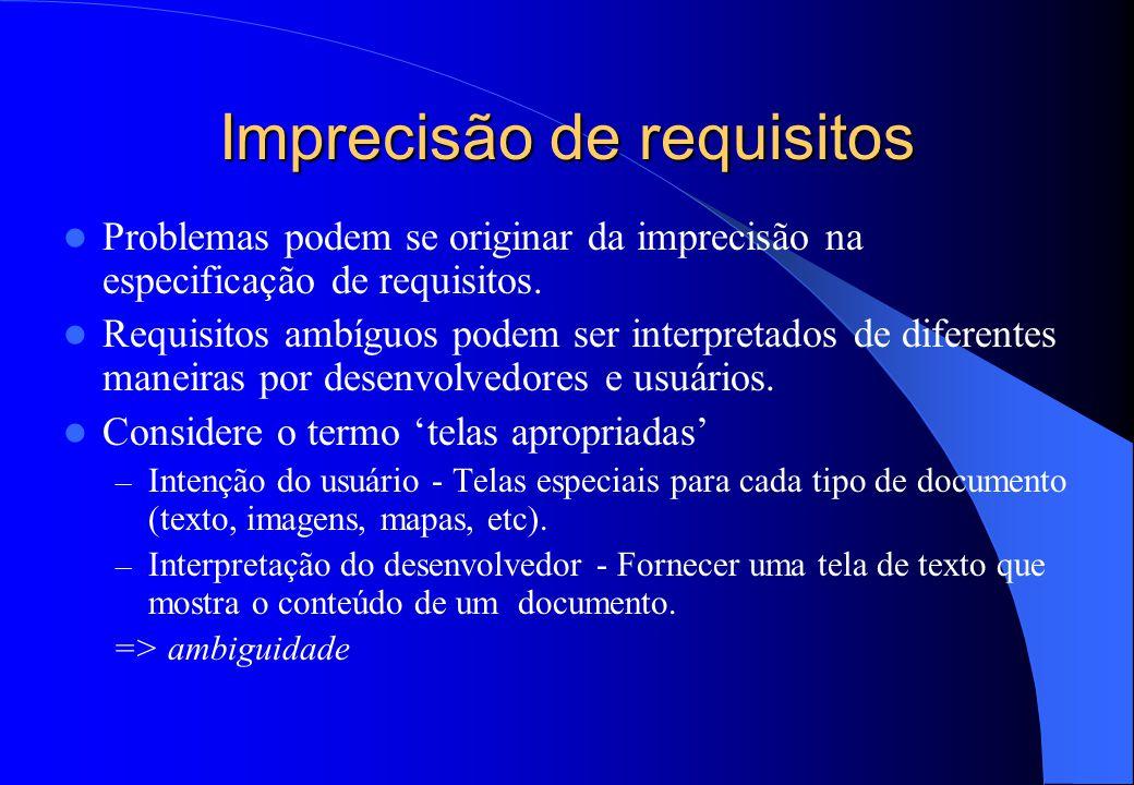 Exemplos de requisitos funcionais para um sistema de biblioteca de universidade 1. O usuário deve ser capaz de buscar todo o conjunto inicial de banco