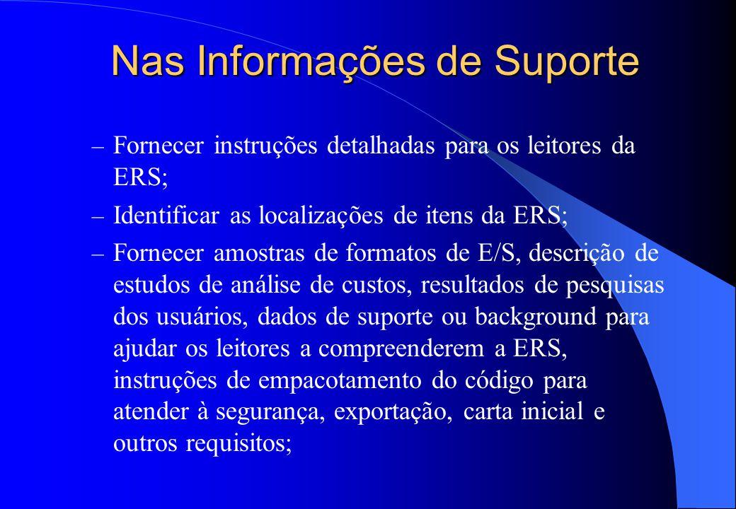  Informações de Suporte: – Índice analítico e remissivo; – Apêndices;