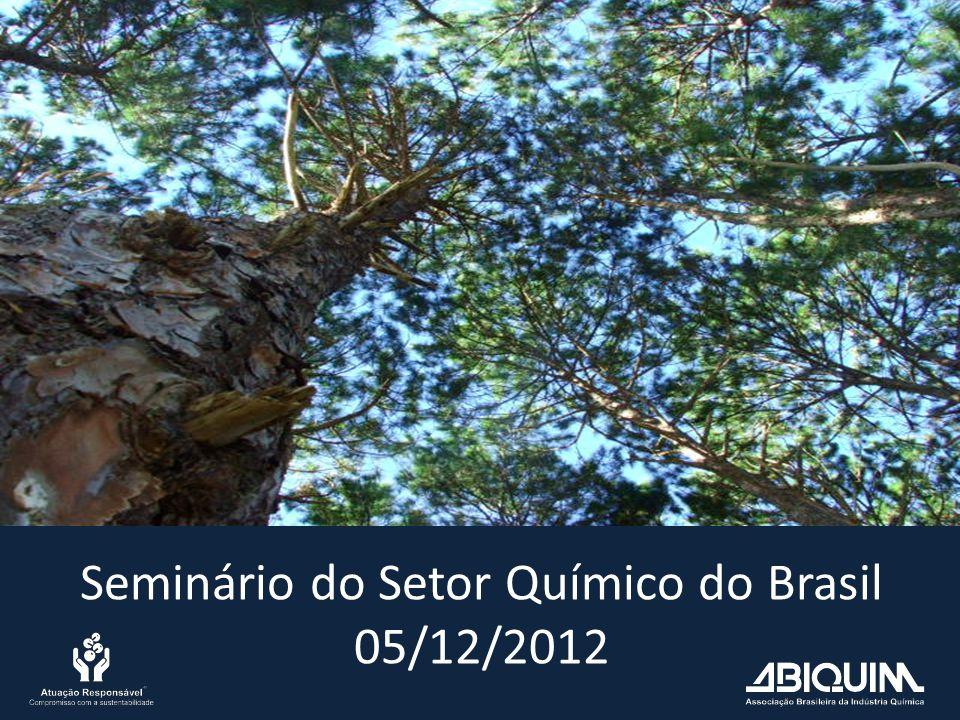 Seminário do Setor Químico do Brasil 05/12/2012