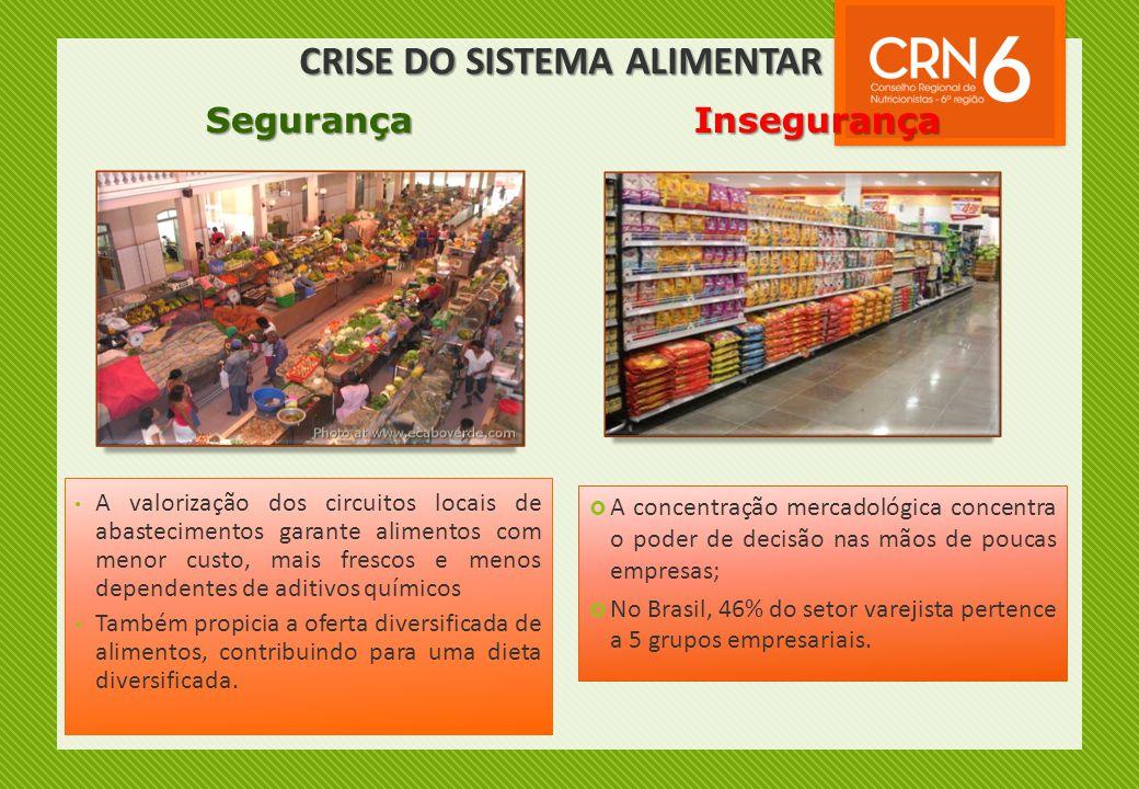 • A valorização dos circuitos locais de abastecimentos garante alimentos com menor custo, mais frescos e menos dependentes de aditivos químicos • Tamb