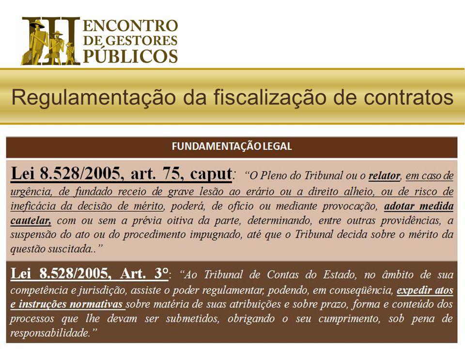 IN06/2003* : Dispõe sobre a sistemática de fiscalização dos atos e encaminhamento dos contratos realizados nas unidades administrativas dos Poderes Le