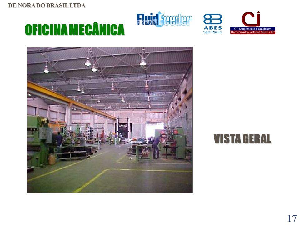 16 ÁREA CONSTRUIDA  MECÂNICA 1.800 m2. ATIVAÇÃO 1.700 m2.