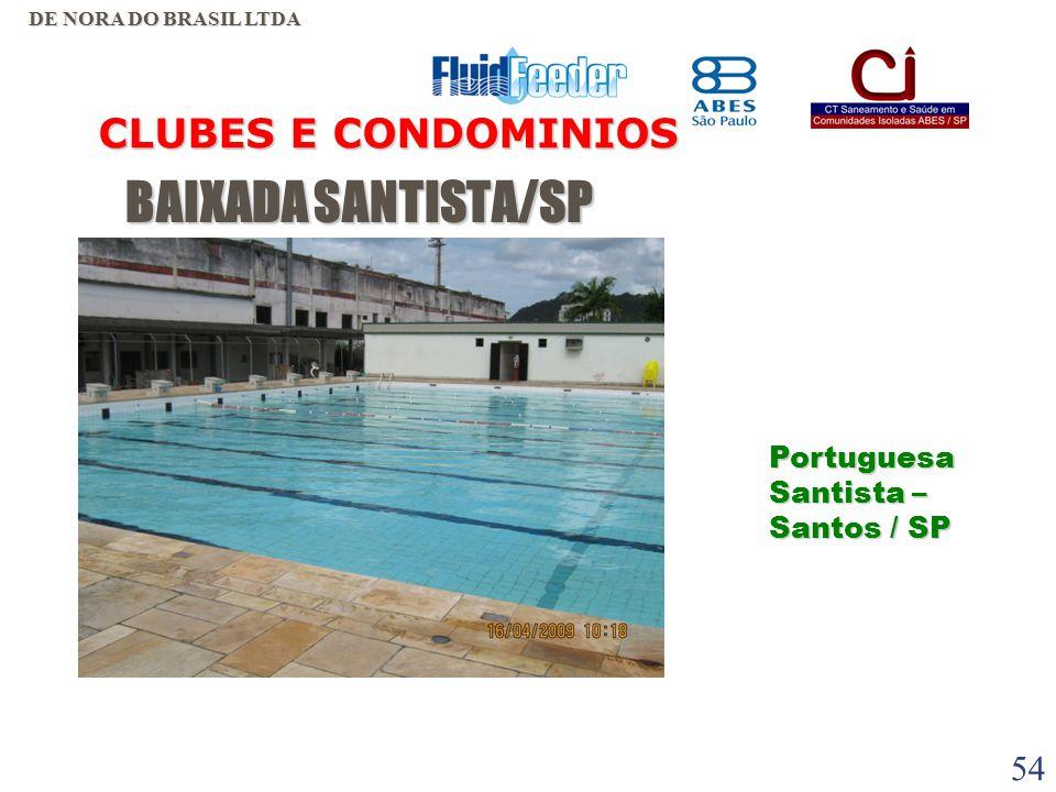 53 BAIXADA SANTISTA/SP BAIXADA SANTISTA/SP CLUBES E CONDOMINIOS DE NORA DO BRASIL LTDA Futebol Clube de Ribeirão Pires / SP