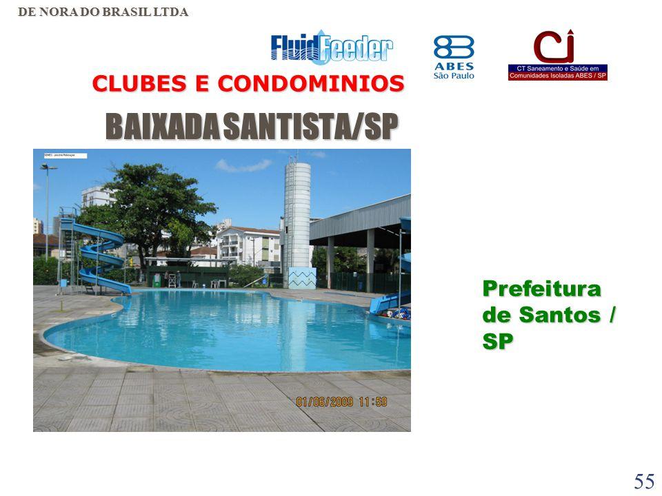 54 BAIXADA SANTISTA/SP BAIXADA SANTISTA/SP CLUBES E CONDOMINIOS DE NORA DO BRASIL LTDA Portuguesa Santista – Santos / SP