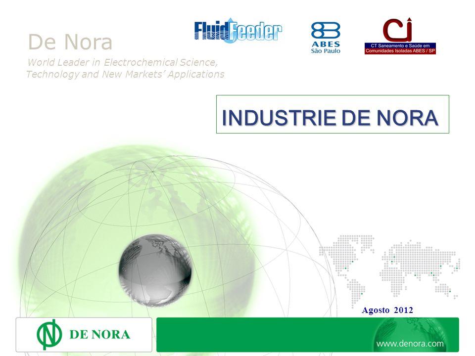 7 INDICE GERAL 1.INDUSTRIE DE NORA. 2. DE NORA DO BRASIL LTDA.