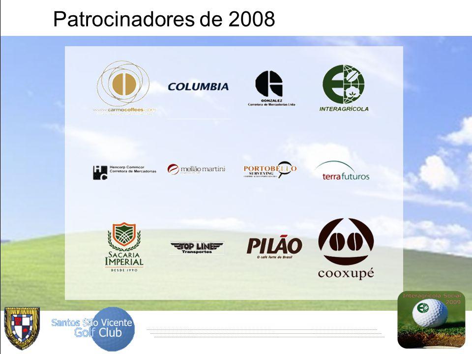Patrocinadores de 2008