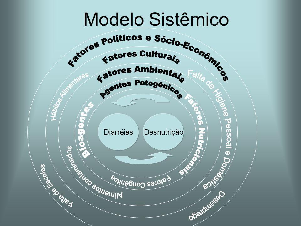 Modelo Sistêmico DesnutriçãoDiarréias