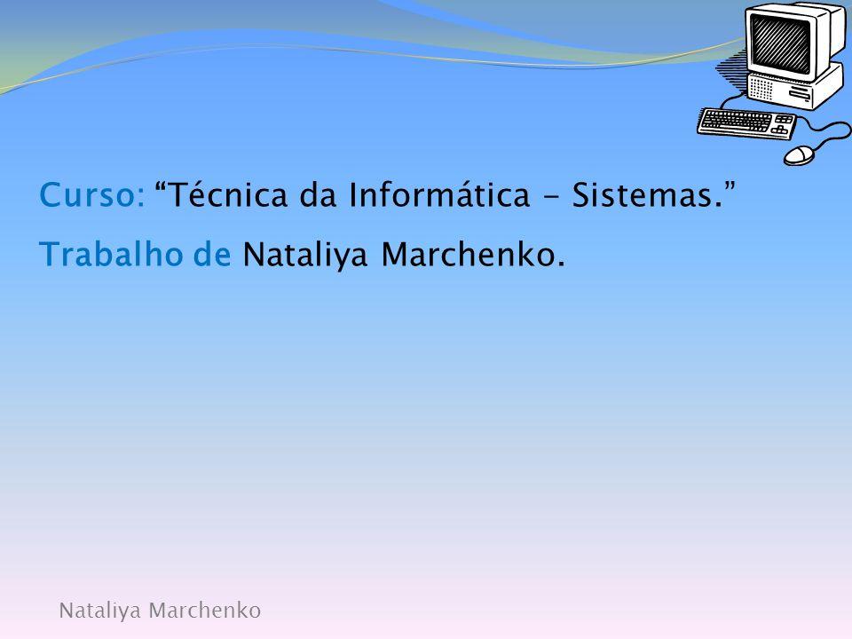 Nataliya Marchenko  A unidade central do computador (microprocessador, memória central) necessita de comunicar com o mundo exterior para receber e enviar informação, e neste ponto são necessários os PERIFÉRICOS.