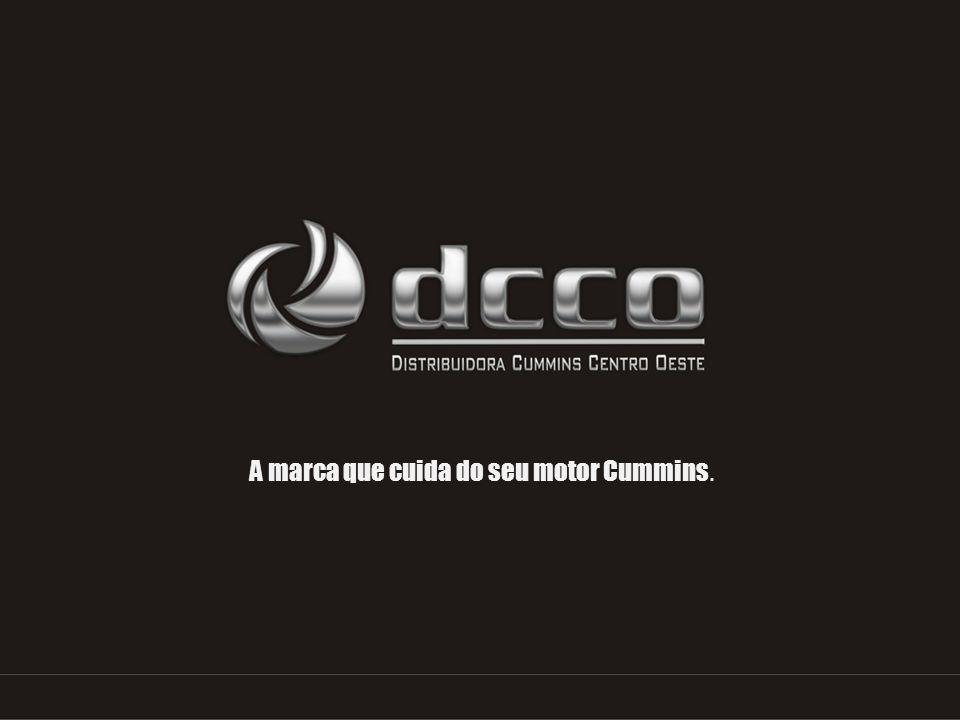 Apresentação A DCCO – Distribuidora Cummins Centro Oeste, fundada em 1985, é o distribuidor dos produtos CUMMINS nos Estados de Goiás, Tocantins e Distrito Federal, responsável pela comercialização e assistência técnica de motores, peças genuínas e grupos geradores.