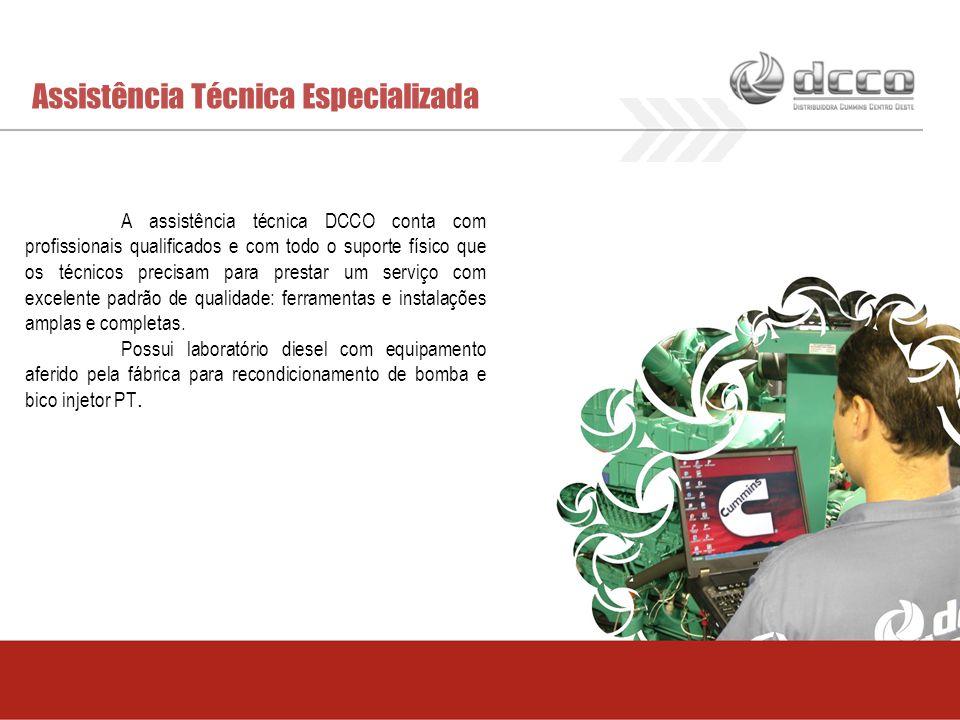 Assistência Técnica Especializada A assistência técnica DCCO conta com profissionais qualificados e com todo o suporte físico que os técnicos precisam